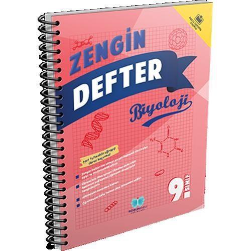 Sözün Özü Yayınları 9.Sınıf Zengin Defter Biyoloji