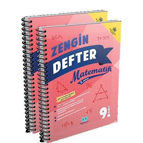 Sözün Özü Yayınları 9.Sınıf Matematik Zengin Defter (2 Li Set)