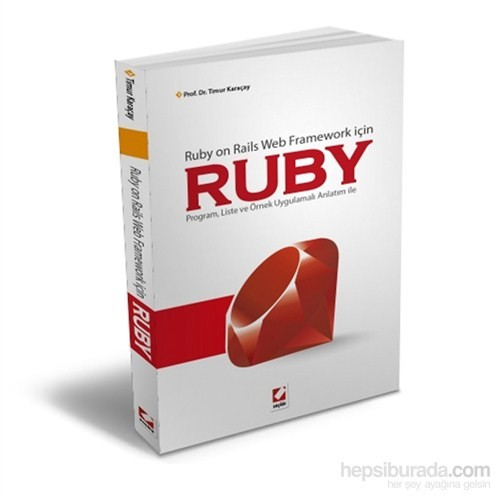 Ruby - Ruby on Rails Web Framework için