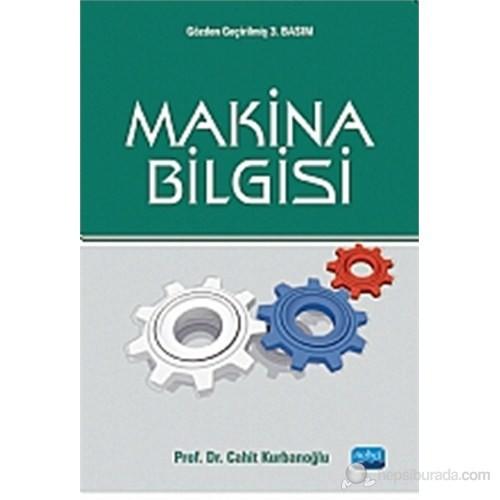 Makina Bilgisi-Cahit Kurbanoğlu