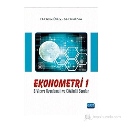 Ekonometri I / E-Views Uygulamalı ve Çözümlü Sorular