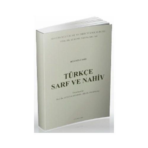 Türkçe Sarf Ve Nahiv