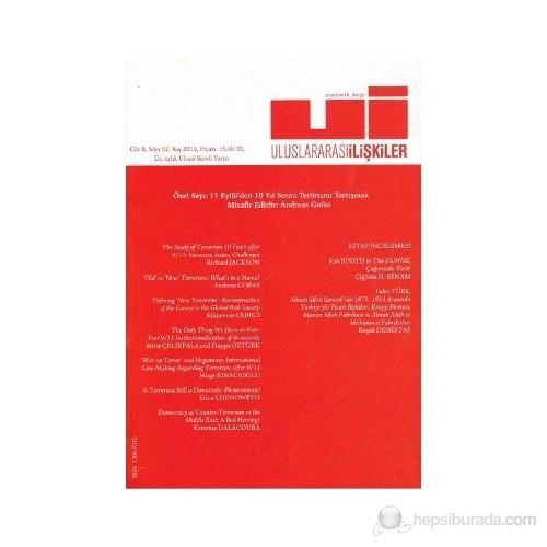 Uluslararası İlişkiler Dergisi Cilt: 8 Sayı: 32