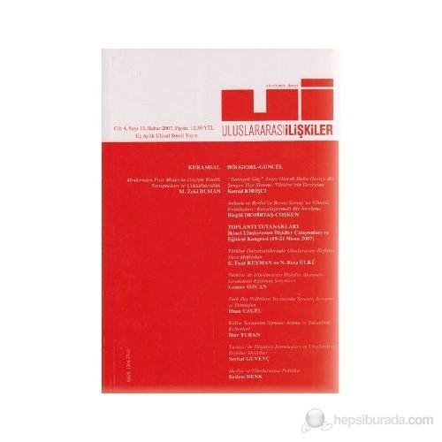 Uluslararası İlişkiler Dergisi Sayı: 13