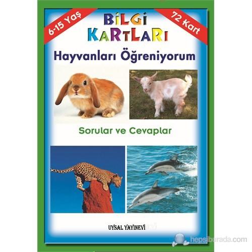 Bilgi Kartı 11 - Hayvanları Öğreniyorum