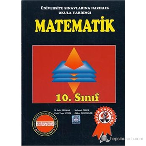 Zafer Yayın 10. Sınıf Matematik Konu Anlatımı Soru Çözümleri