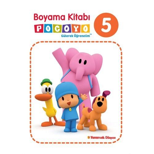 Pocoyo Boyama Kitabı 5