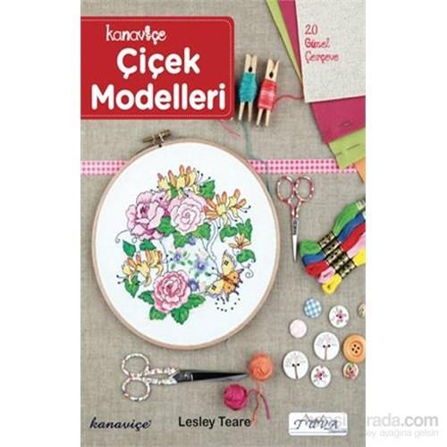 Kanaviçe Çiçek Modelleri - Lesley Teare