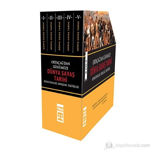Dünya Savaş Tarihi Seti (5 Kitap) - Matthew Bennet