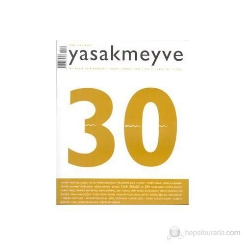 Yasakmeyve Sayı: 30 İki Aylık Şiir Dergisi