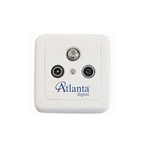 Atlanta 001-S (sonlu tv priz)