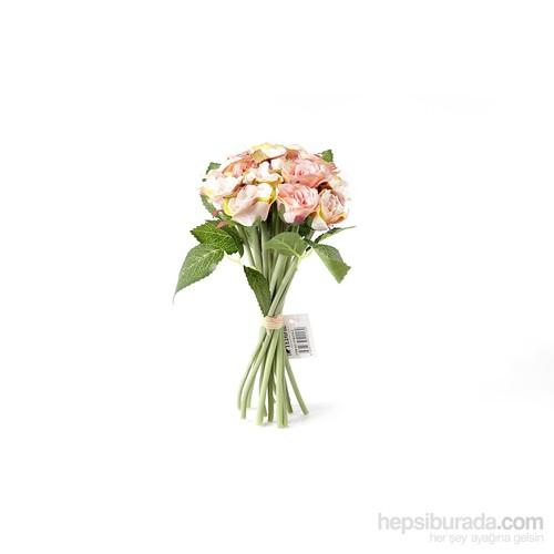 Yedifil Yaban Gülü Gelin Eli Yapay Çiçek - Krem1 Alana 1 Bedava