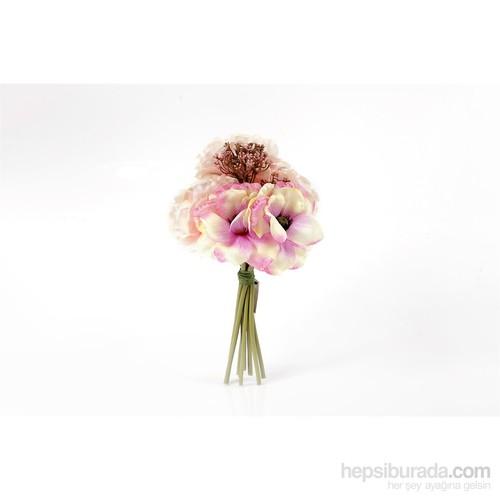 Yedifil Orkide Gelin Eli Yapay Çiçek - Fuşya1 Alana 1 Bedava