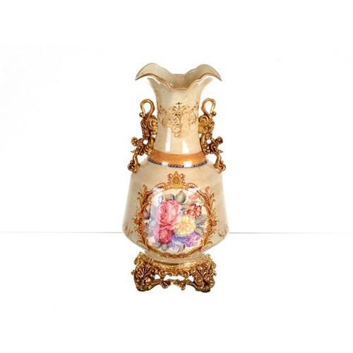 Lucky Art Krem Gold Vazo - Fx 053