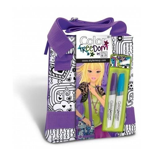 Smu Color Freedom Postacı Çanta - Mor