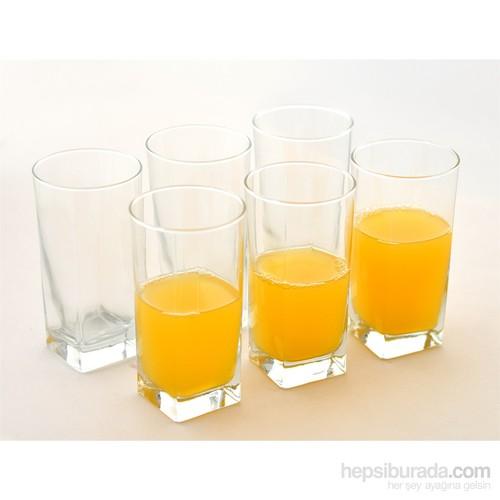 Paşabahçe Carre 6'Lı Meşrubat Bardağı 6'Lı Sade