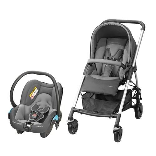Bebe Confort Streety 3 Seyahat Sistem Bebek Arabası / Concrete Grey