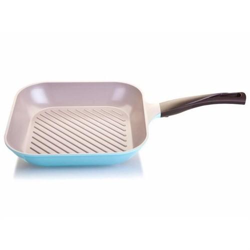 Cheftopf Mavi 28 Cm Grill Tavası