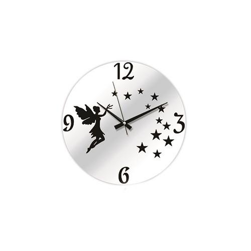 Time Gold Aynalı Duvar Saati Yıldız