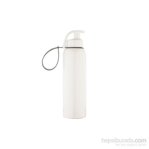 Tantitoni Beyaz Plastik Su Şişesi - 680Ml