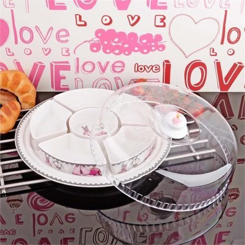 İhouse8303 Porselen Kahvaltılık Beyaz