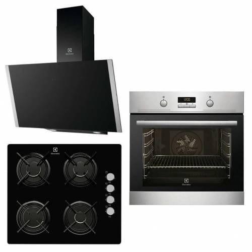 Electrolux Ankastre Set Black Series (Ezb3410aox-Egt6042nok-Efv60656ok)