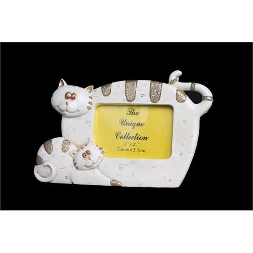 Sevimli Kedicikler Figürlü Çerçeve