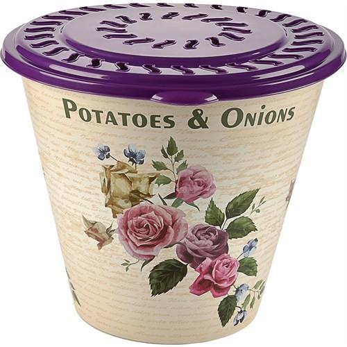 Alper Desenli Patates - Soğan Sepeti - Mor