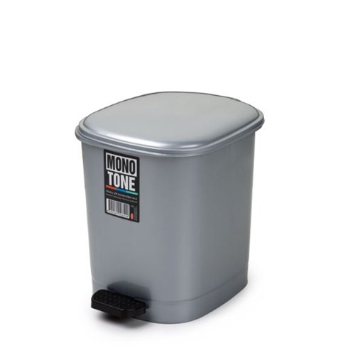 Bora Pedallı Çöp Kovası Köşeli 10 Litre No: 2