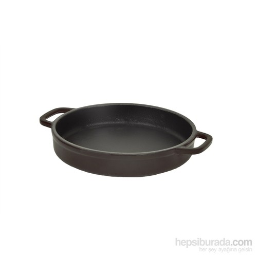 Hecha Skillet Plate 16Cm Siyah Tava