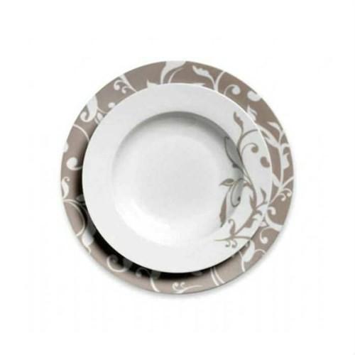 Korkmaz A8013 86 Parça Porselen Yemek Takımı