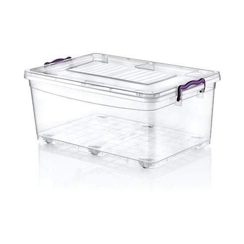 Hobby Life Plastik 40 Lt Tekerlekli Multi Box Saklama Kabı