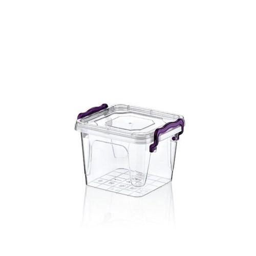 Hobby Life Plastik 550 Ml Kare Multi Box 6 Lı Saklama Kabı