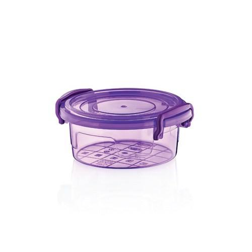 Hobby Life Plastik 300 Ml Bonbon Renkli Saklama Kabı 6 Lı