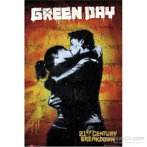 Green Day 21St Century S.O.S Maxi Poster