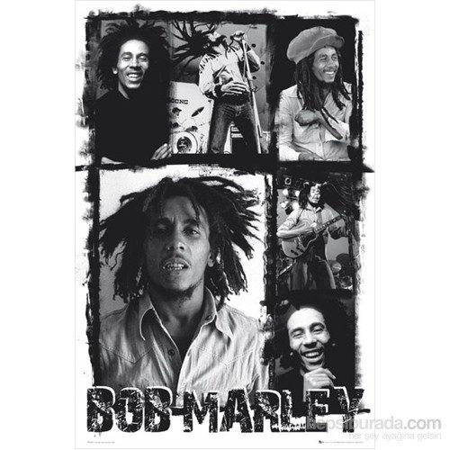 Bob Marley Photo Collage Maxi Poster