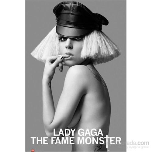 Lady Gaga Leather Cap Maxi Poster