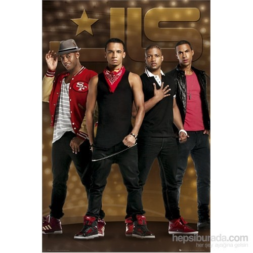 Jls Gold S.O.S Maxi Poster