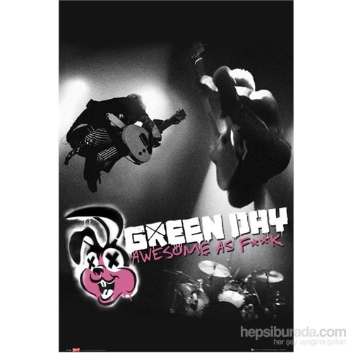 Green Day Awesome As Maxi Poster