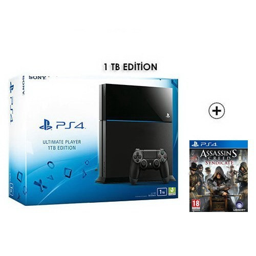 Sony Ps4 Ultimate Ultimate 1Tb Konsol + Assassin's Creed Syndicate