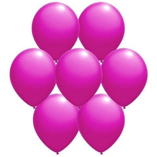 Parti Paketi Fuşya Renkli Balon 25'Li