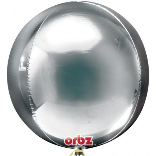 Parti Paketi Gümüş Küre Folyo Balon