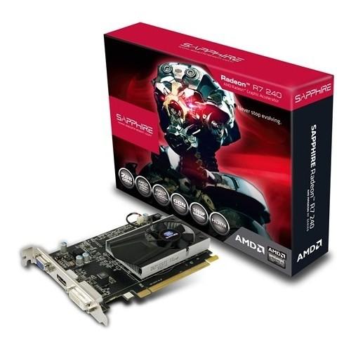 Sapphire Amd Radeon R7 240 Boost Lite 2GB 128Bit DDR3 (DX12) PCI-E 3.0 Ekran Kartı (11216-00-20G)