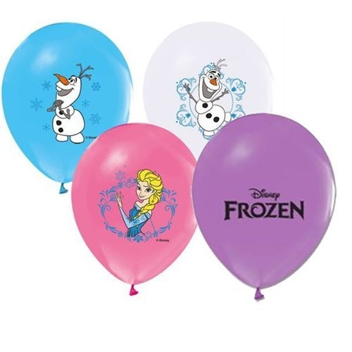 Pandoli 25 Adet Frozen Baskılı Renkli Latex Balon