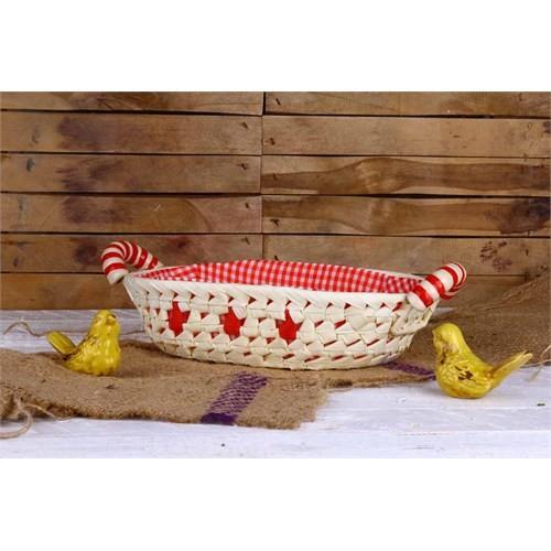 Gold Case Ekmek Sepeti Kırmızı Er-16065