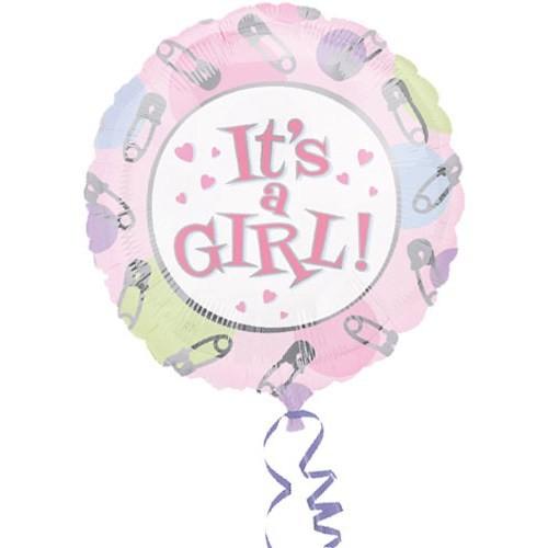 Parti Paketi It's A Girl Folyo Balon