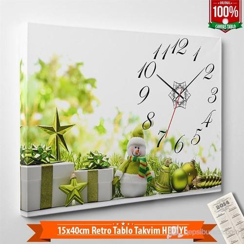 Tabloshop - Yılbaşı Özel Saat - Yb-13 - 45X30cm - Takvim Hediye