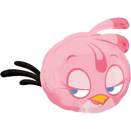 Pandoli Supershape Folyo Pink Bird Balon
