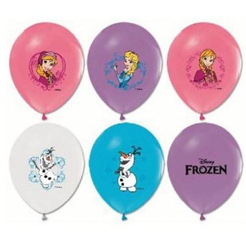 Parti Şöleni Frozen Baskılı Balon 20 Adet