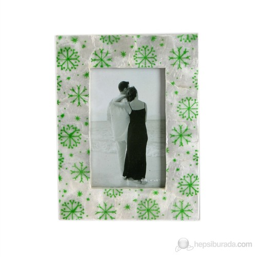Yeşil Kartanesi Model Fotoğraf Çerçevesi